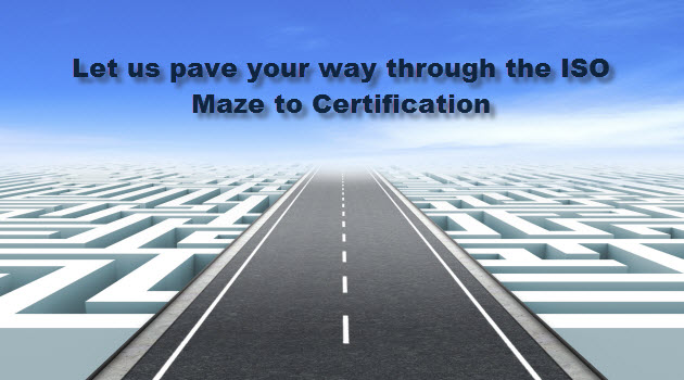 Paving the way to ISO Certification
